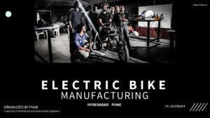MANUFACTURING OF E BIKE INTERNSHIP