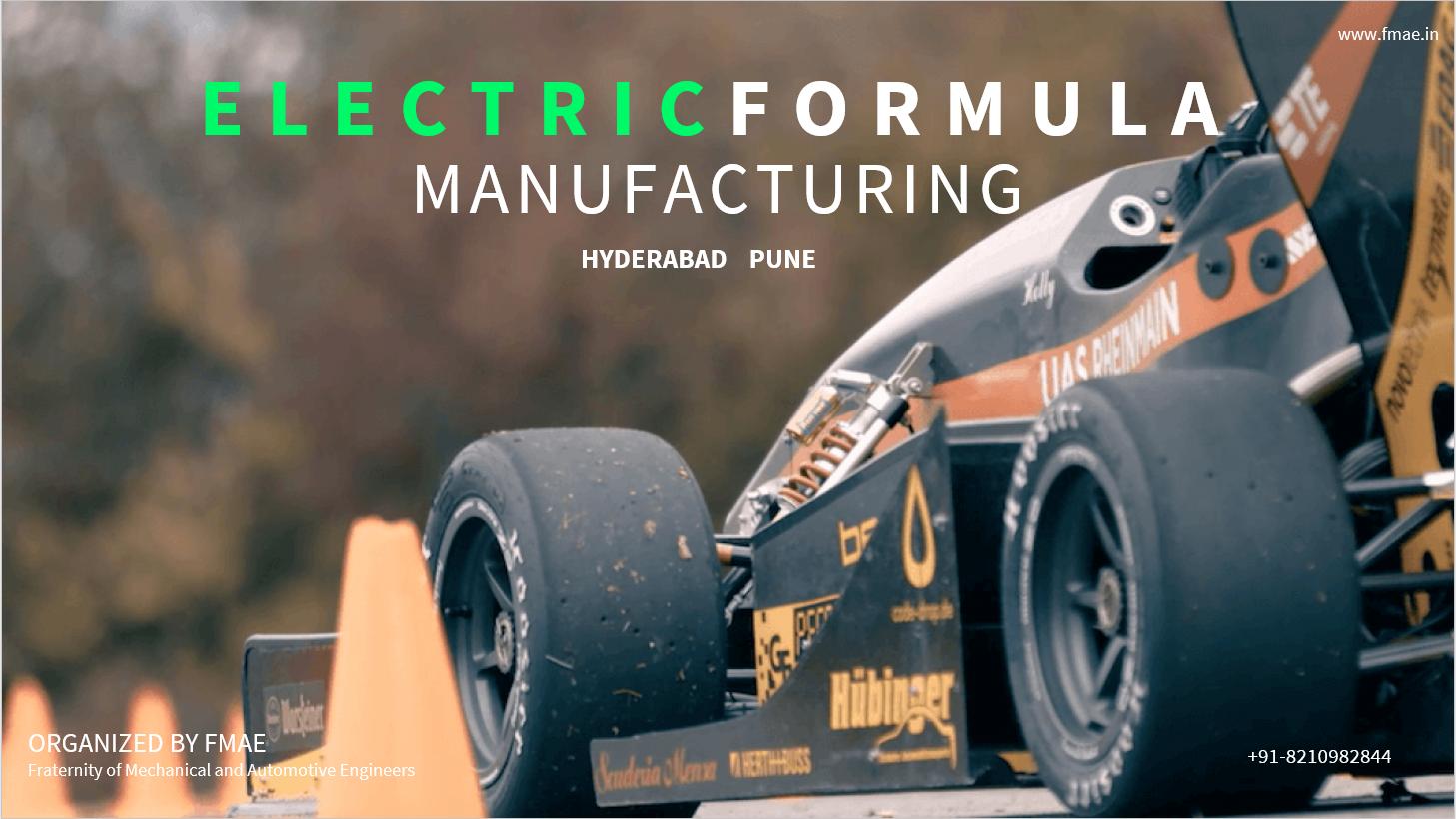 MANUFACTURING OF ELECTRIC FORMULA CAR