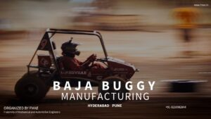MANUFACTURING OF BAJA BUGGY