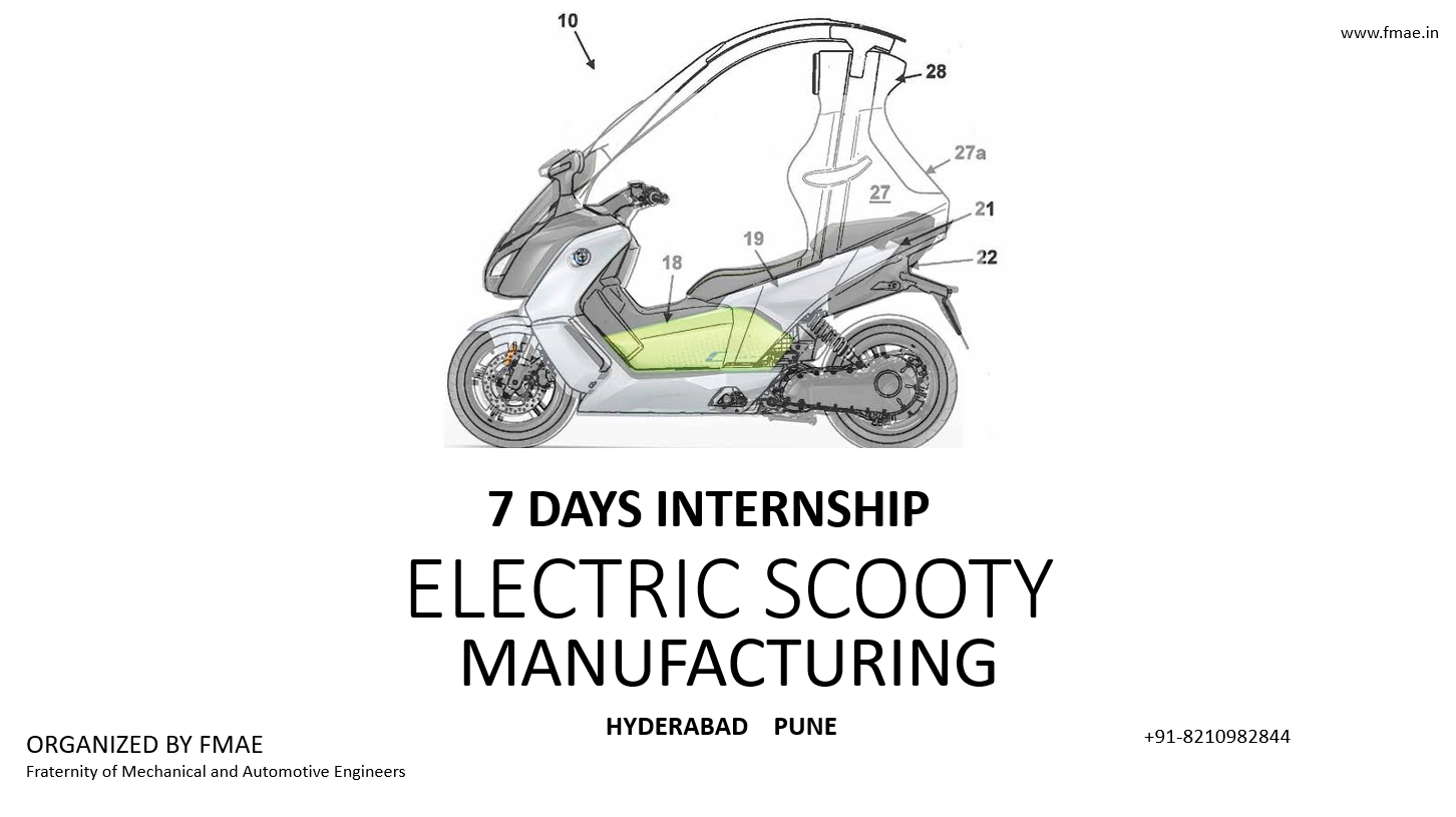 MANUFACTURING OF ELECTRIC SCOOTY
